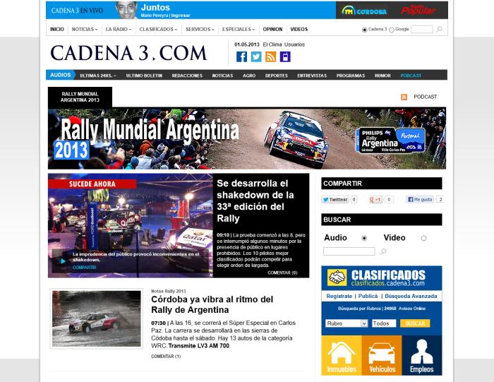 cadena mundial com: