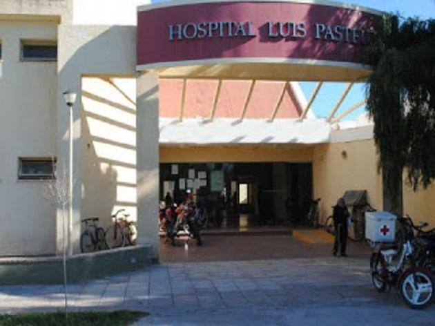 FOTO HOSPITAL LUIS PASTEUR  CHEPES ENTRADA