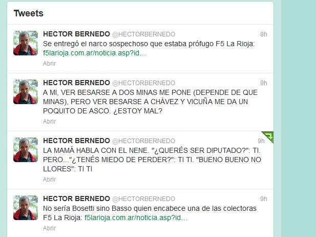 HECTOR BERNEDO (HECTORBERNEDO) en Twitter