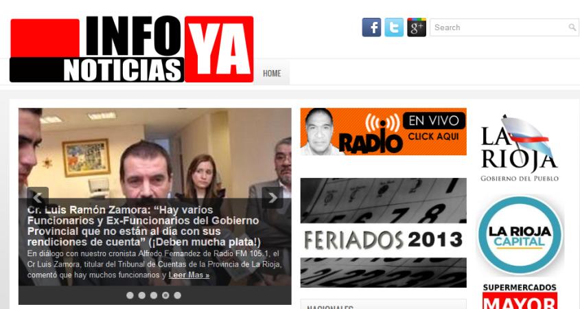 Infonoticias Ya - Noticias de La Rioja Politica