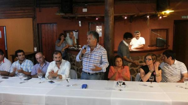Foto que habla: Bosetti se lanzó desde ElGolfito