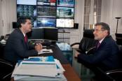 Capitanich recibe al Gobernador de La Rioja