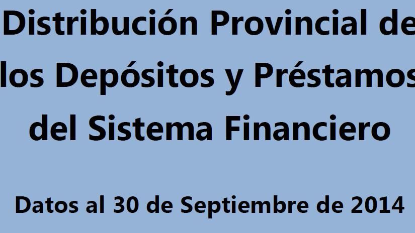 La Rioja: Préstamos otorgados $1.727 millones – Dépositos en bancos $2.441millones