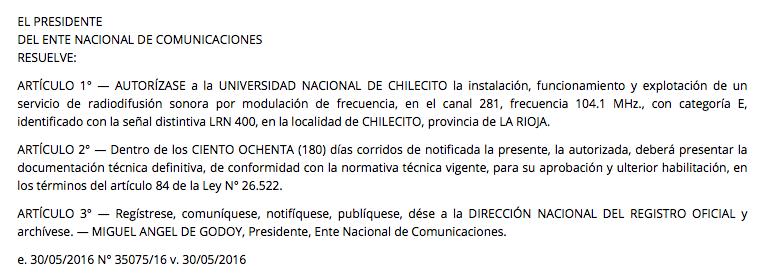 BOLETIN OFICIAL REPUBLICA ARGENTINA 2016-05-31 11-33-43