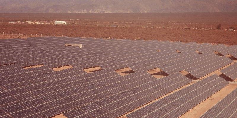 360 Energy tendría listo este año el parque solar de Nonogasta