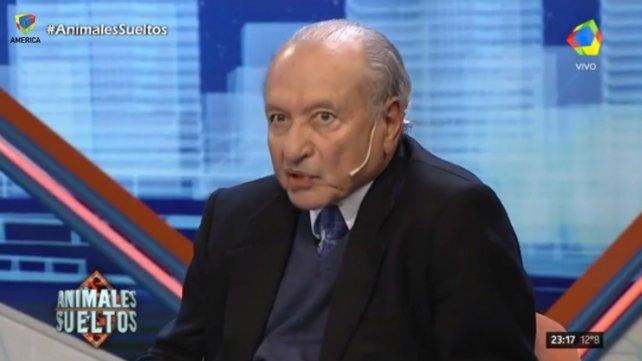 """Eduardo Menem dijo que """"el Gobierno presionó a la Justicia para la impugnación de Menem"""""""