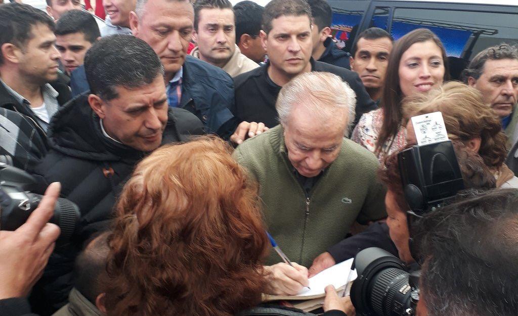 El PJ riojano se rebela y llama a votar por Carlos Menem el domingo