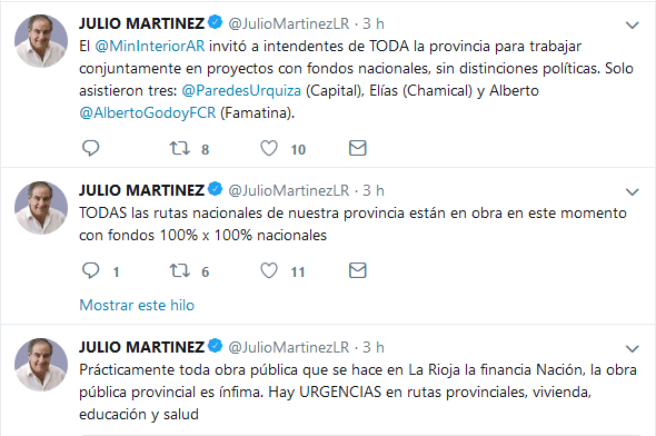 JULIO MARTINEZ JulioMartinezLR Twitter