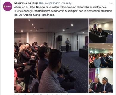 Municipio La Rioja municipalidadlr Twitter(1)