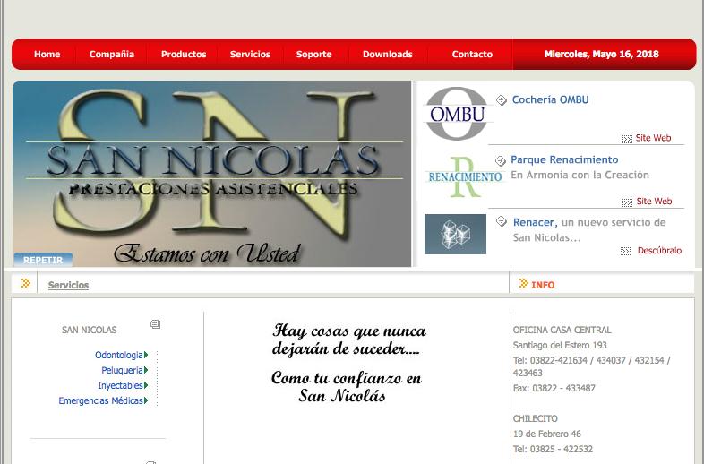 San Nicolas Prestaciones Asistenciales