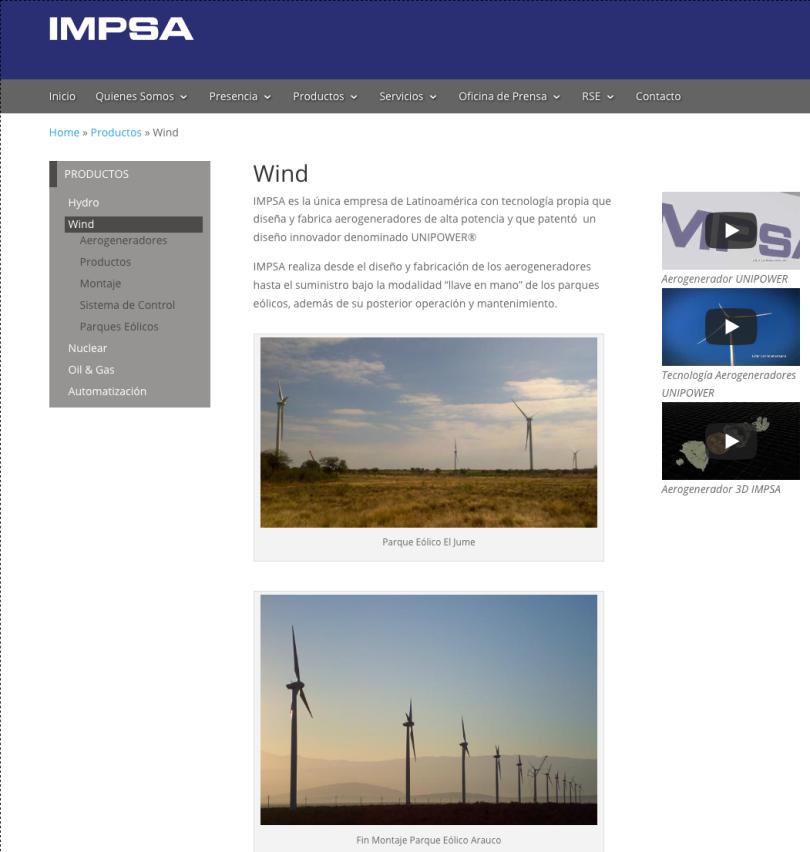 Wind IMPSA