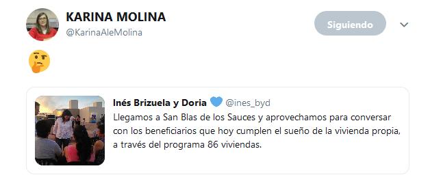 KARINA MOLINA en Twitter 🤔…