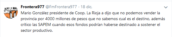 Frontera977 FmFrontera977 Twitter