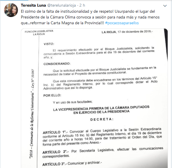 Teresita Luna terelunalarioja Twitter
