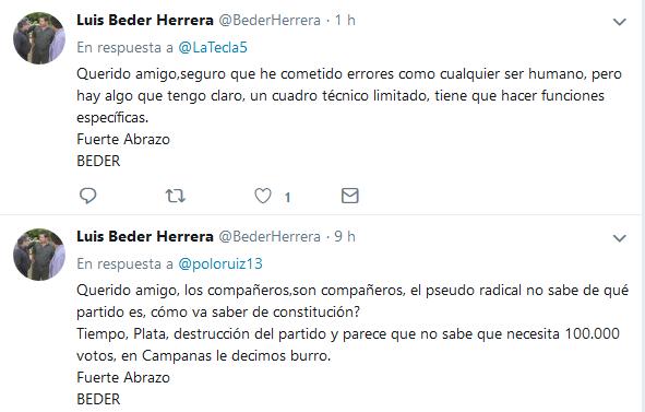 Tweets con respuestas por Luis Beder Herrera BederHerrera Twitter