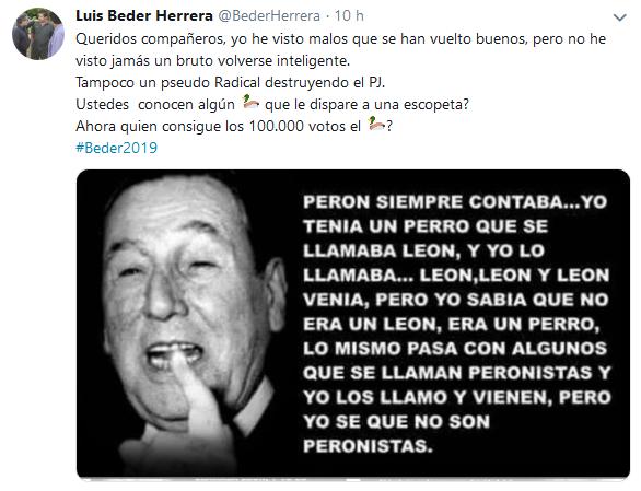 Tweets con respuestas por Luis Beder Herrera BederHerrera Twitter(1)