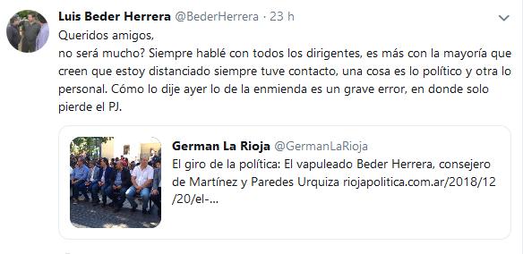 Tweets con respuestas por Luis Beder Herrera BederHerrera Twitter(3)
