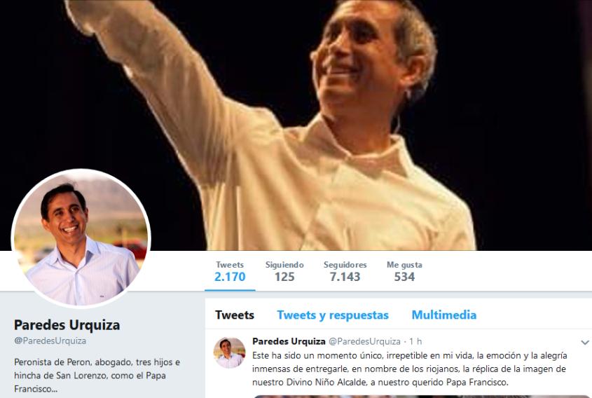 Paredes Urquiza ParedesUrquiza Twitter