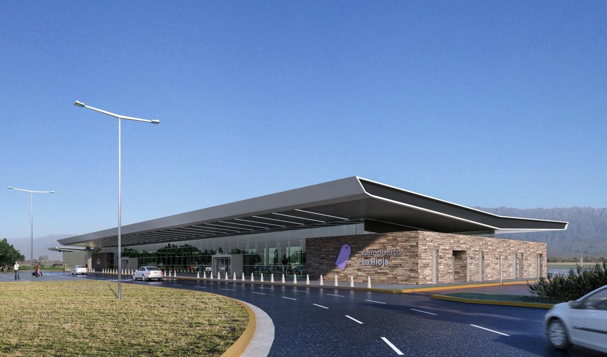 Comenzaron las obras de construcción del nuevo Aeropuerto La Rioja