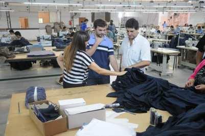 Acompañamiento y fortalecimiento de cooperativas textiles