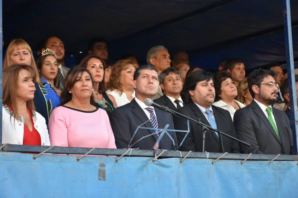 Fonzalida y el gabinete provincial de Chilecito le dejaron el protagonismo a Gaitán