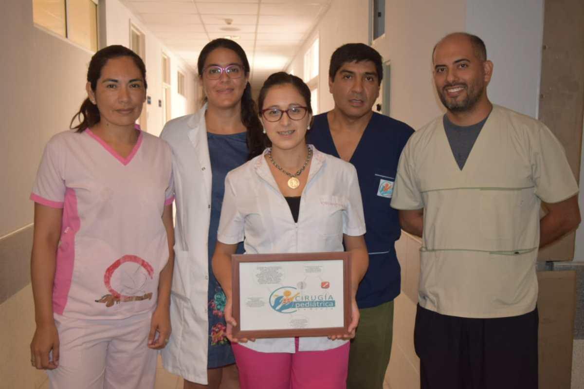 Hospital de la Madre y el Niño:Realizaron un complejo procedimiento para devolverle la salud a una niña