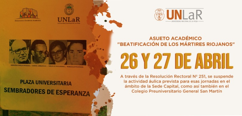 beatificacion flyer