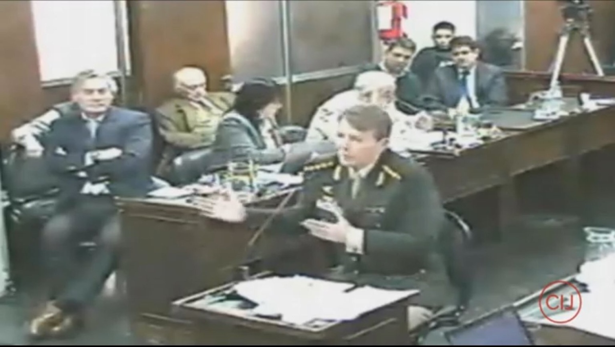 Milani negó haber participado de los crímenes de lesa humanidad que se le imputan