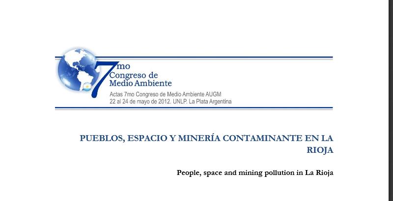 Según la Universidad de La Plata, el 80% de los riojanos en contra de laminería