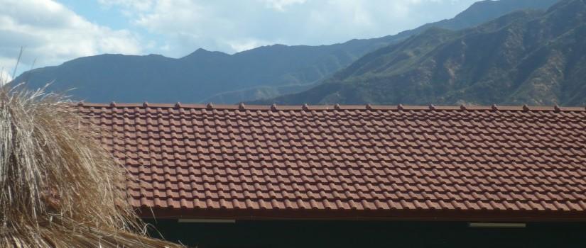 Tejas ecológicas fabricadas con envases de cartón en LaRioja