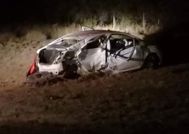 Accidente en ruta 38 se cobró una vida y dejó 3 personashospitalizadas