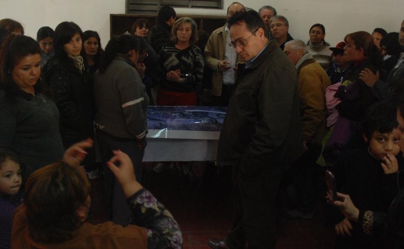 Ante los vecinos, Puy Soria ratificó la construcción de ruta aSanagasta