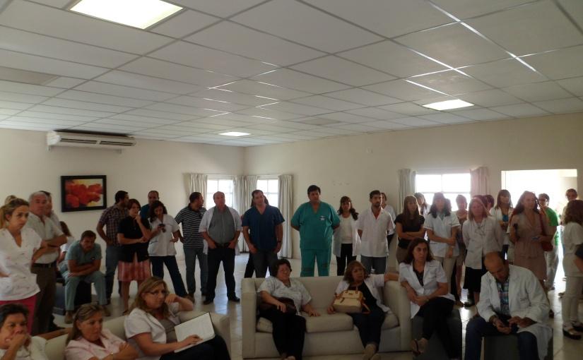 Médicos de paro: HMyN y Hospital Vera Barros con el 90% deacatamiento