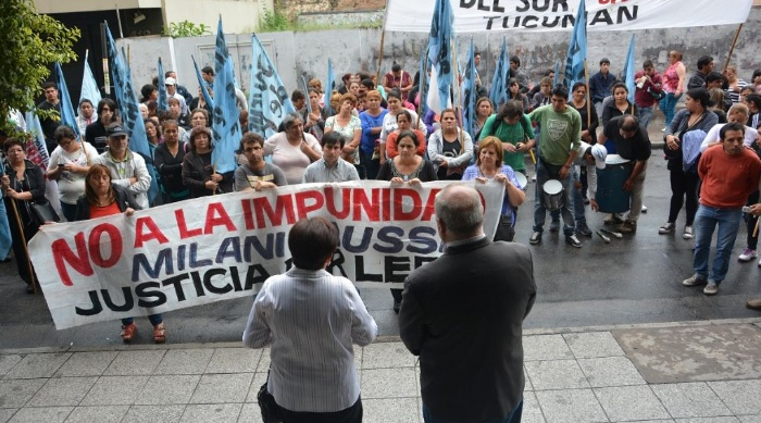 Tucumán: Marcharon para exigir la indagatoria deMilani