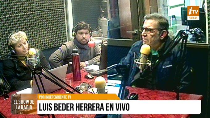 """Beder Herrera anunció """"Si no hay unidad, tenemos la herramienta para competir enoctubre"""""""