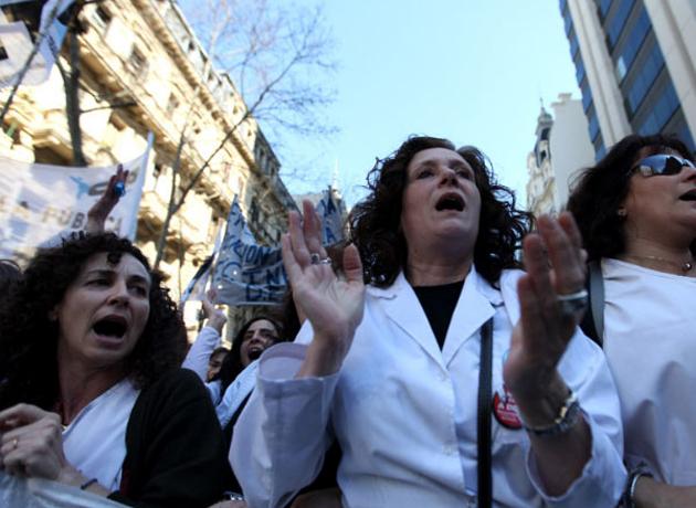 Salarios 2015: los maestros reclaman aumentos salariales de hasta el 50% y preparanparos