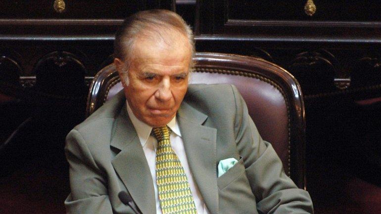 """Menem: """"La Argentina requerirá una audacia similar a la que protagonizamos en los90"""""""