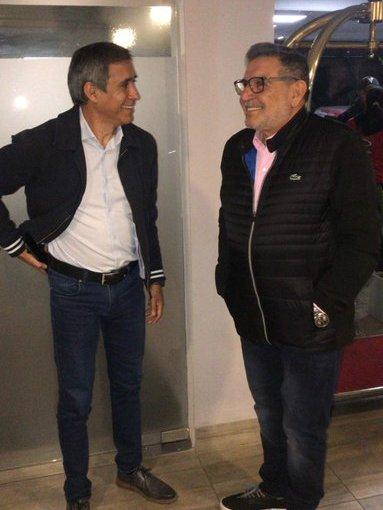 Paredes Urquiza acordó con Beder Herrera avanzar en una reforma judicial en el marco del acuerdopolítico