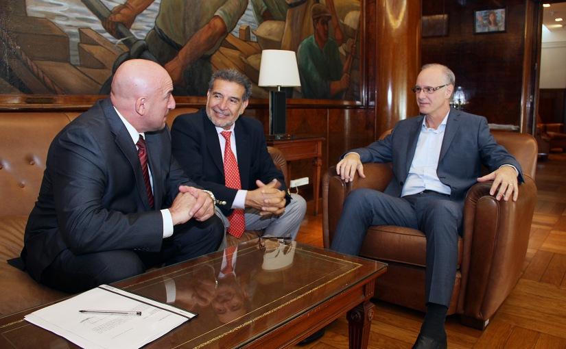 Beder Herrera invitó al nuevo ministro de Salud para inauguración de hospitalesmóviles