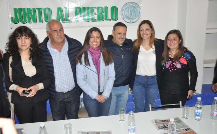 Teresita Madera entendió que el gobernador y el intendente deben llevarsebien
