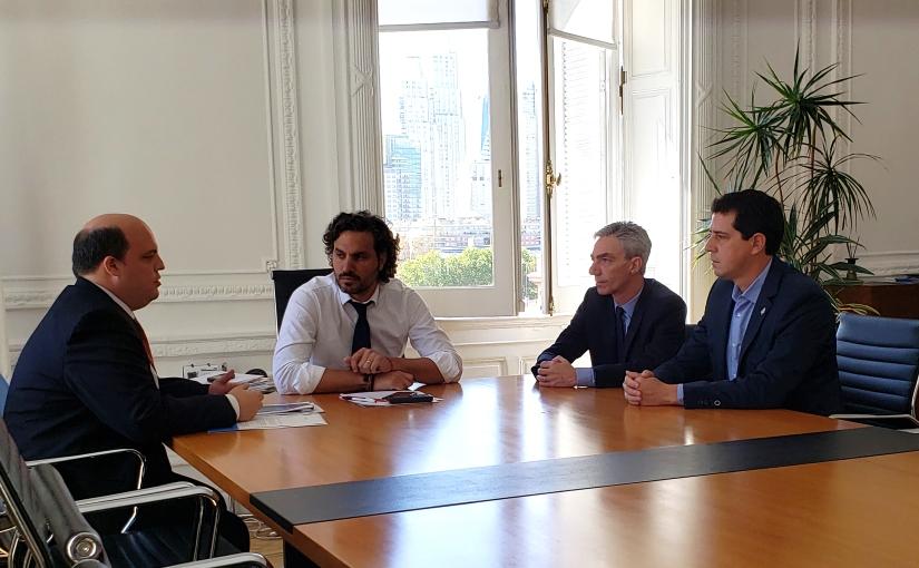Wado de Pedro aseguró que con los nuevos vuelos de Aerolíneas, La Rioja fortalecerá sudesarrollo