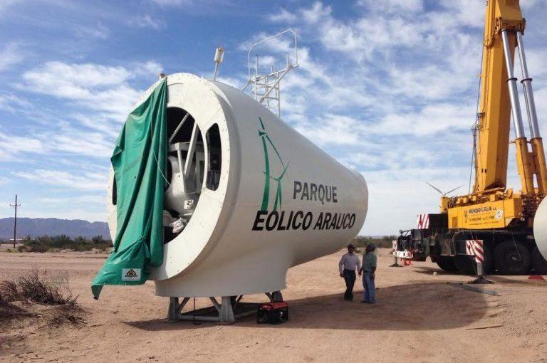 El gobierno de La Rioja confirmó que no está en operaciones el Parque EólicoArauco