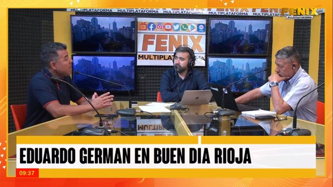 "¿Por qué radio Fénix?: Por ""Don German"""