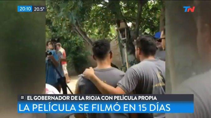 La película sobre Quintela llegó a Todo Noticias y su director se descargó enTwitter