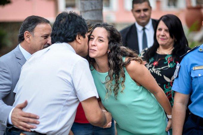 Evo Morales en La Rioja: Critica asistencia de EE.UU. a elecciones enBolivia