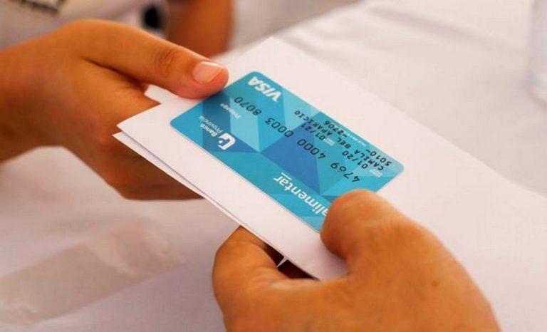 Dudas sobre la entrega de las tarjetas alimentarias en LaRioja